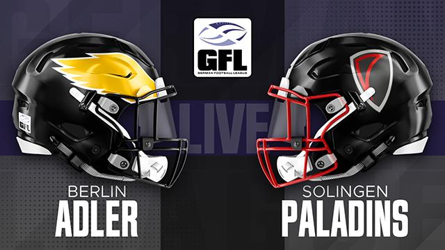 Berlin Adler vs Solingen Paladins