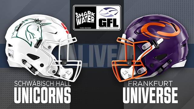 Schwäbisch Hall Unicorns vs Frankfurt Universe
