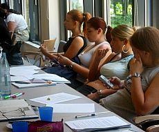 Teilnehmerinnen am Regelkundetag 2003  (c) AFV Hessen