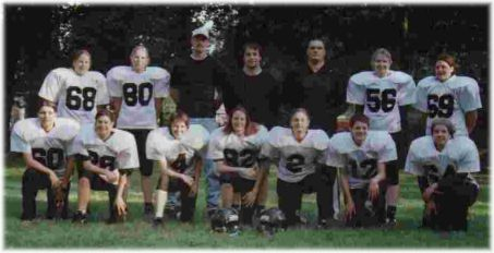 Teamfoto Graz Black Widows 2000