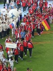 Einmarsch der Athleten - Eröffungsfeier  (c) AFVD