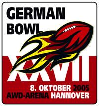 German Bowl XXVII Logo  (c) AFVD