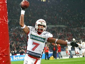 Marcel Duft wurde MVP des German Bowl XXVII <br /> (c) Sidelineview.de