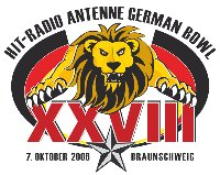 German Bowl XXVIII Logo  (c) AFVD