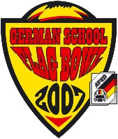 German School Flag Bowl 2007 Logo  (c) AFVD