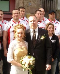 Hochzeit Ehepaar Dalkowksi Marburg 05.04.07  (c) AFVD