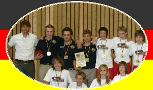 Deutscher Schulmeister Flagfootball 2007 <br /> (c) AFV Nord