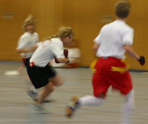 Action beim German School Flag Final. <br /> (c) AFV Nord
