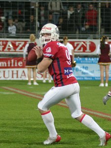 German Bowl MVP Dennis Zimmermann  (c) AFVD