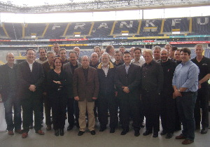 Treffen der Bundesligisten am 16.3.2008 in der Frankfurter Commerzbank Arena.  (c) AFVD