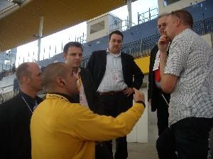 Der AFVD zu Besuch in der Commerzbank Arena  (c) AFVD