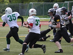 Mülheim Shamrocks, RB Sarah Walther #37 (vs. Cologne Falconets)