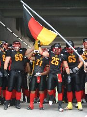 Team Deutschland ist bereit zum Spielen  (c) AFVD