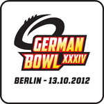 German Bowl XXXIV Logo   (c) AFVD