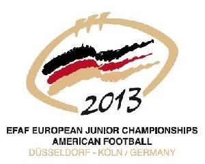 Logo 11. EFAF Junioren EM 2013  (c) AFVD