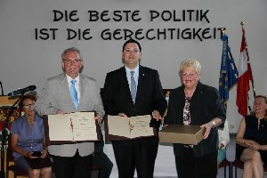 Verleihung Stadtältester  (c) Björn Simon
