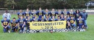 U17 Hessenmeister 2014  (c) Hanau Hornets