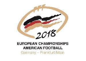 Logo EM 2018 Frankfurt  (c) GFS
