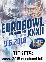 Banner Eurobowl XXXII  (c) AFVD