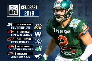 CFL Draft 2019 (5x GFL)
