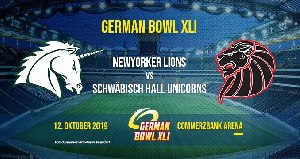 German Bowl XLI Banner  (c) AFVD
