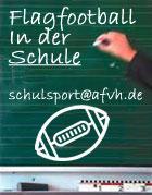 Flagfootball in der Schule  (c) AFV Hessen